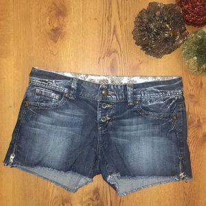 Guess jean denim shorts zipper size 31